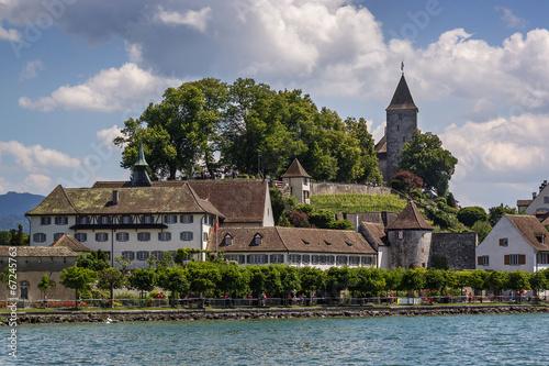 Leinwandbild Motiv Rapperswil, Switzerland