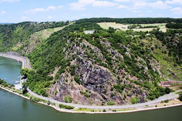 Rhein - Loreley - Loreleyfelsen