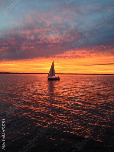 voilier sur l'eau