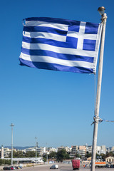 National flag of Greece