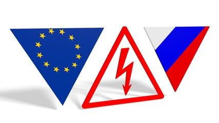 politic conflict between russia and europe union
