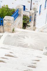 Typischer Baustil in Griechenland auf den Kykladen