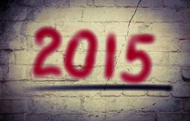 Happy New Year 2015 Concept