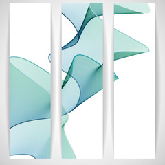 Abstract Waves Design.