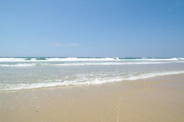 Strand in Frankreich bei Lacanau Ozean 3