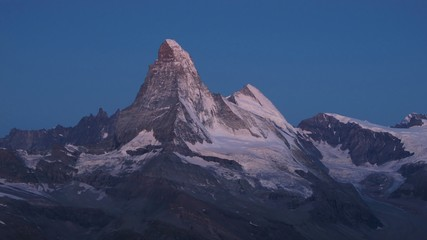 Matterhorn in the very early morning