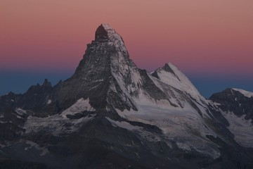 Matterhorn just before sunrise