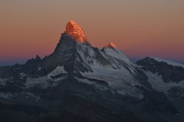 Matterhorn In The First Sunlight