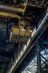DDR Holzkran Fabrik