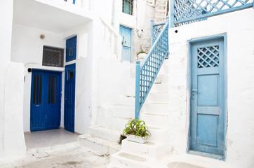 Typisch griechischer Baustil auf den Kykladen