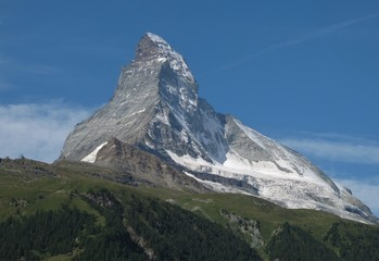 Matterhorn, view from Zermatt