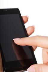 Smartphon close up