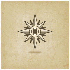 wind rose old background