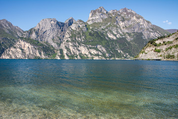 Alps at Lake Garda
