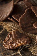 Homemade Chocolate Covered Potato Chips