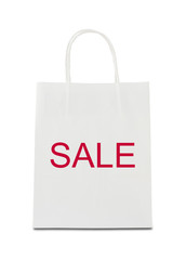 """Sale"" on shopping bag"