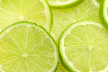 fresh lime slices