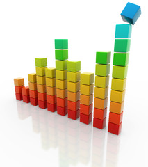 colorful bar chart