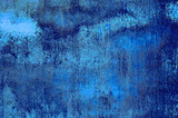 blue grunge background poster