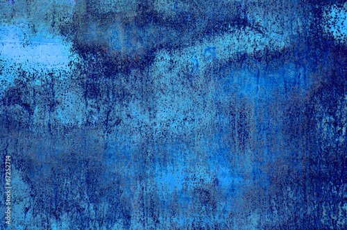 canvas print picture blue grunge background
