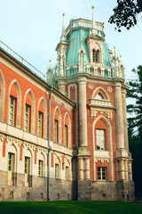 Tsaritsyno - State Museum Reserve Park in Moscow, Russia