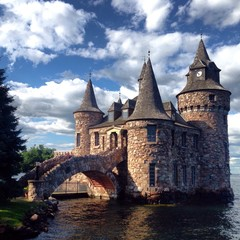 Boldt Castle, Thousand islands, USA