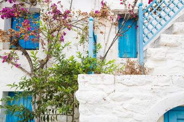 Griechische Bauweise auf den Kykladen
