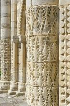Facade de l'église de Saint-Denis d'Oléron