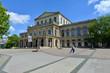 Leinwanddruck Bild - Opernhaus, Kultur, Niedersächsisches Staatstheater, Hannover