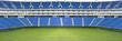 canvas print picture - Football stadium