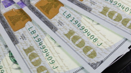 Numbering of banknotes order