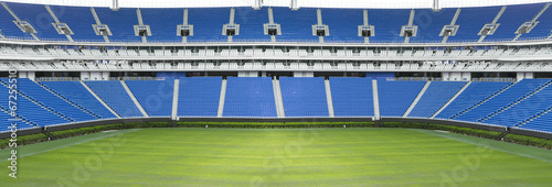 Fotobehang Stadion Football stadium