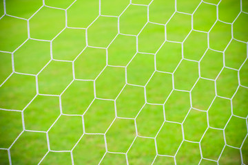 Football soccer goal net