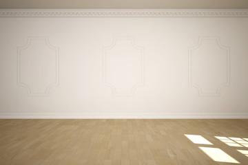 leerer großer Raum