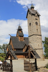 Karpacz church Wang .Poland