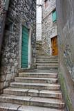 Fototapety Narrow alley, Sibenik