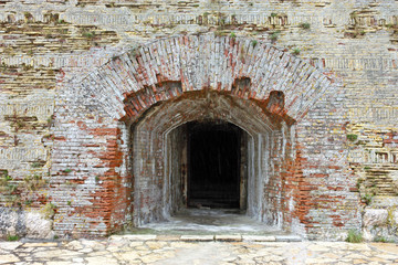 Entrance into old fortress