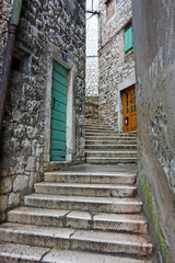Narrow alley, Sibenik