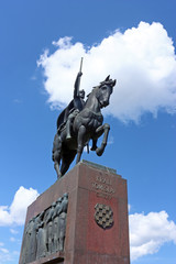 Monument of king Tomislav