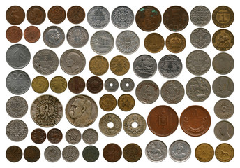 coins from first before begin second world wars