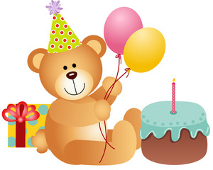 Birthday Teddy Bear
