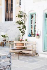 Architektur - Fassade auf der griechischen Insel Serifos