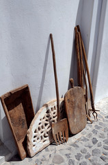 Rusty Tools for Agricultural Labor