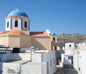 Kirche von Serifos in den Kykladen.