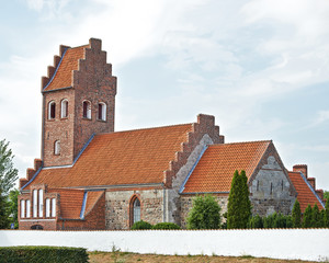 Draaby Church located in zealand, Denmark