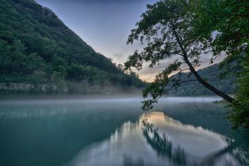 Mystic river Soca, HDR