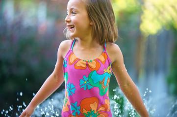 Girl Summer Splash