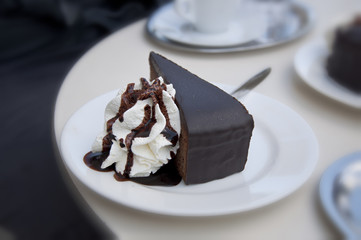 Sacher torte, the famous Viennese culinary specialties