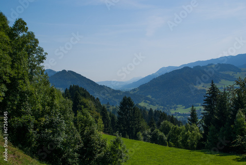 canvas print picture Landschaft Gebirge