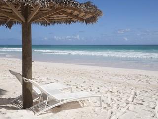 relax su spiaggia tropicale
